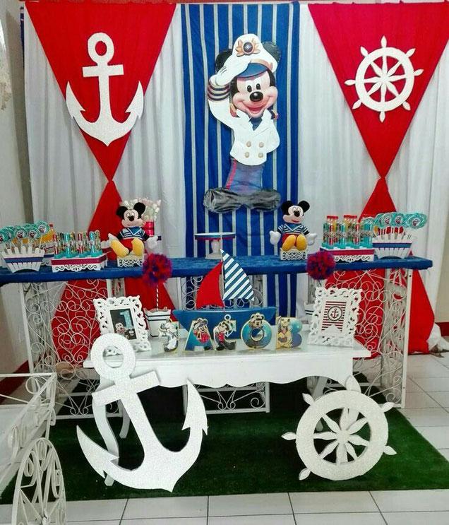 marinero ideas para baby shower