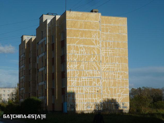 На фото: Лаголово, ул. Садовая дом №8. Сентябрь 2014 год.