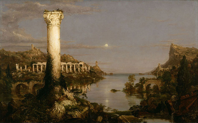 "Thomas Cole, ""Desolazione"" (1836)"