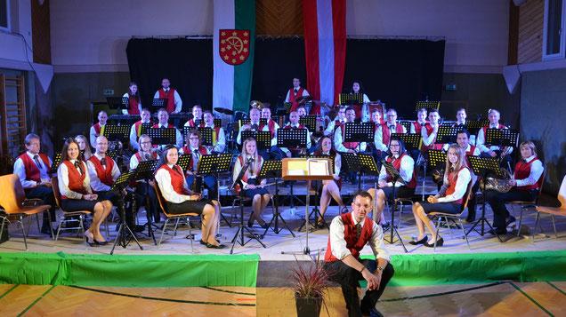Musikverein Hainersdorf beim Konzert
