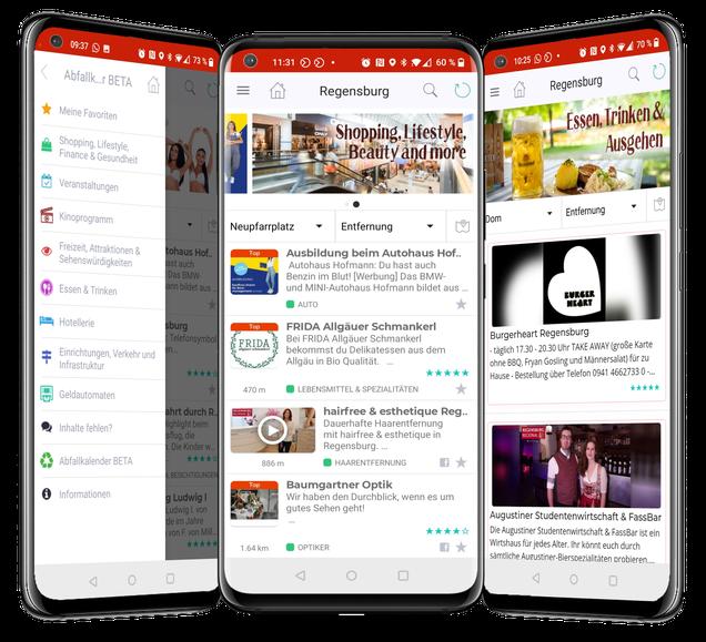 Unipush Regio-App: Die Städte-App der neuen Generation