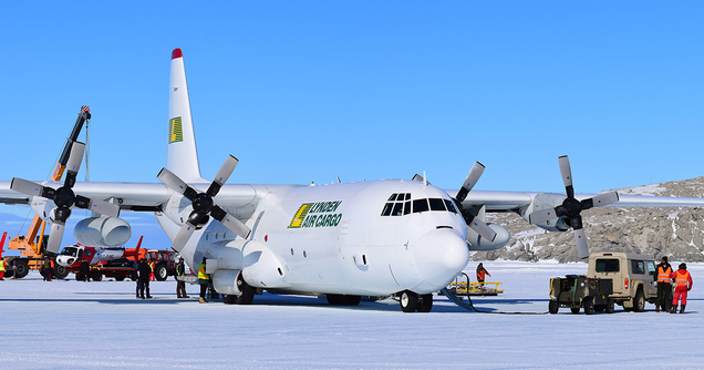 Lynden Air Cargo, a LILCO sister company, relies on their robust Lockheed L-382 Hercules fleet, comprising a total of 14 units.