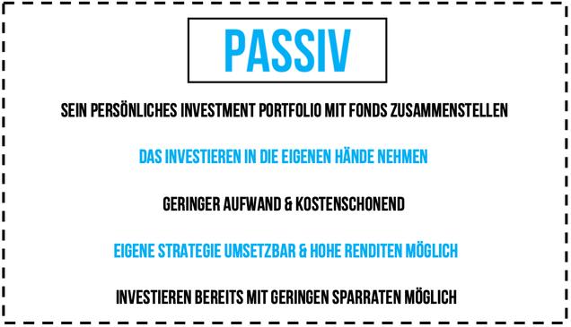 Passiv Investieren Leitfaden Investor Schule