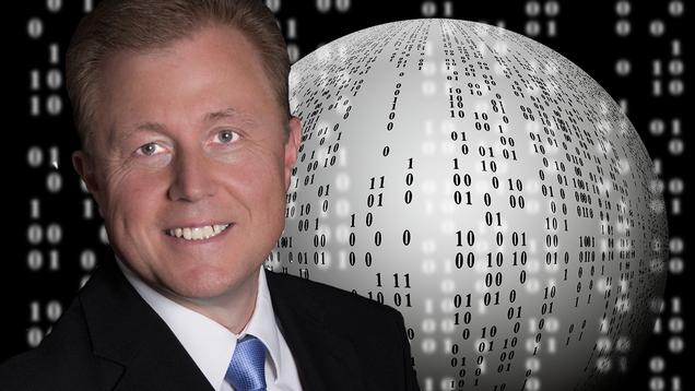 """Datenbank-Experte Sylvio Hellmann: """"Selbst erfolgreiche Manager wissen häufig nicht, wie viele Daten sich in ihren Systemen verbergen. Ich will dabei helfen, Wissen aus Daten zu ziehen!"""""""