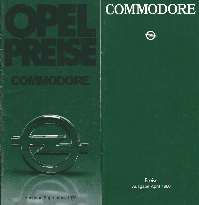 Opel Commodore C