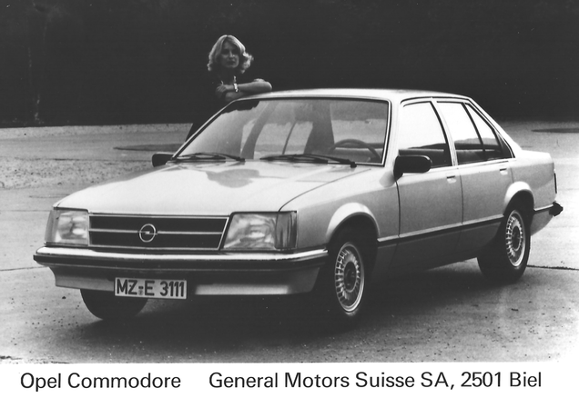 Opel Commodore C