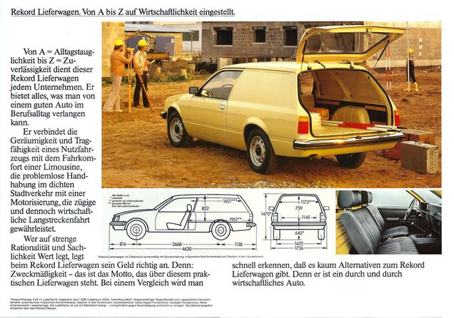 Opel Rekord Lieferwagen