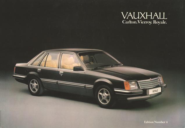 Vauxhall Carlton, Viceroy, Royale