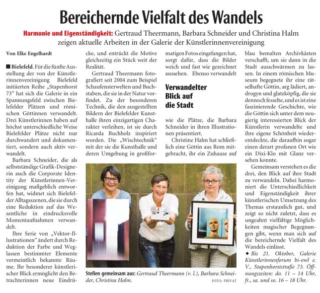 Neue Westfälische_8. OKT 2018
