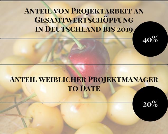 Quellen: GPM Studie zur makroökomischen Vermessung der Projekttätigkeit in Deutschland (2015) / GPM Gehaltsstudie (2013)