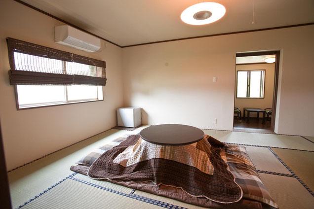 12畳の和室です。