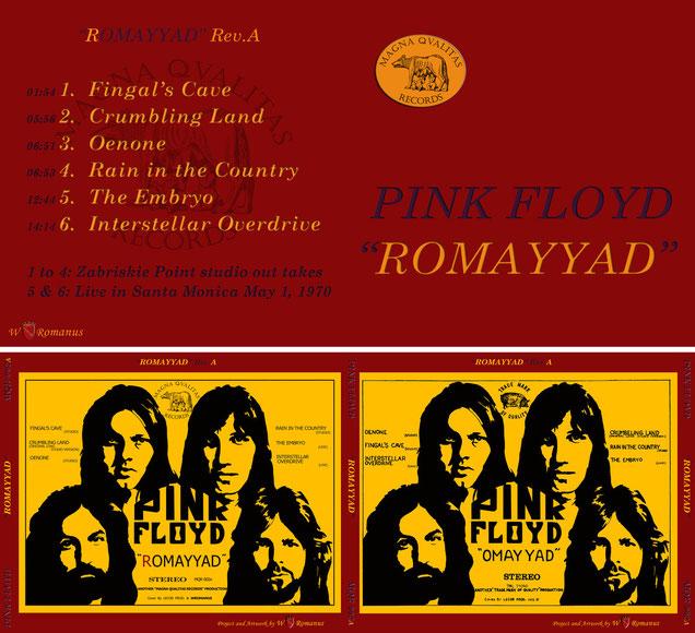 Pink Floyd - ROMAYYAD Rev.A - MQR 002A
