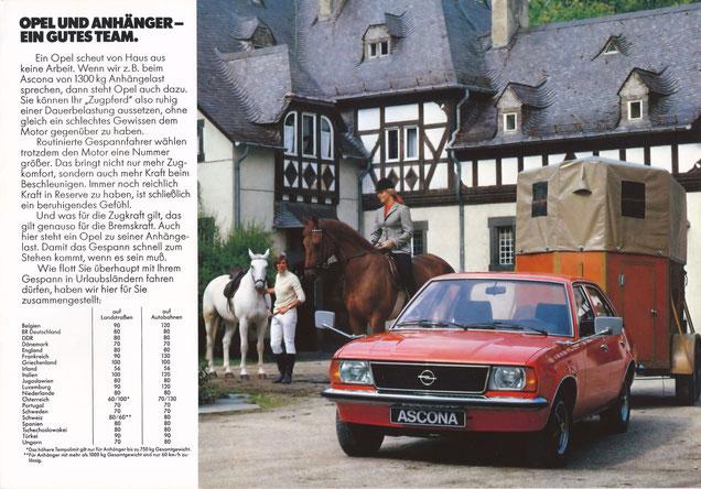 Opel uw beste Trekpaard