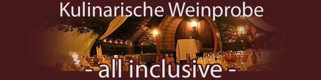 Kulinarische Weinprobe an der Ahr