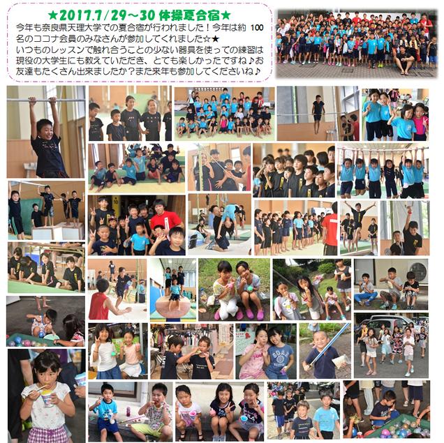 ココナ夏合宿