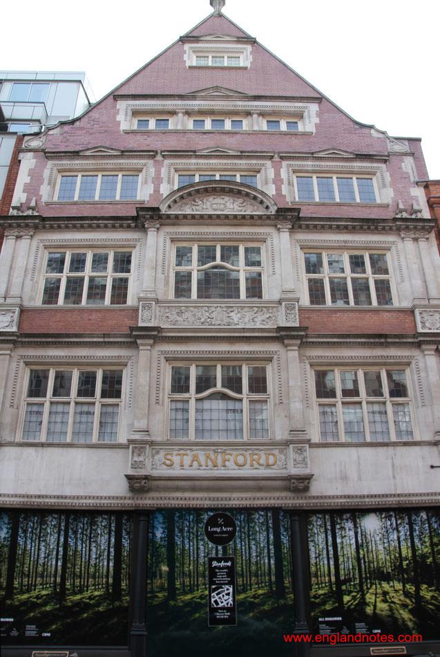 Die besten Buchläden in London: Das historische Gebäude von Stanfords