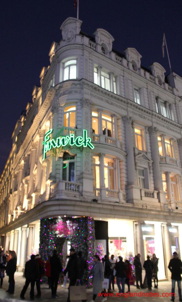 London Shopping Tipps: Die besten Kaufhäuser und Einkaufszentren in London - Fenwick
