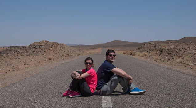 La strada verso Merzouga ed Erg Chebbi, un viaggio in solitaria