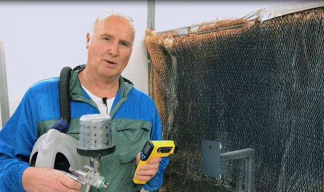 Erik van Dorp, Techniker bei AkzoNobel