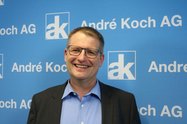 Volker Wistorf leitet das Team Anwendungstechnik der André Koch AG.
