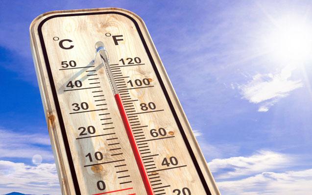 Arbeiten bei sommerlichen Temperaturen erfordert eine angepasste  Tagesplanung, nicht nur beim Fahrzeuglackieren (Foto: rawf8).