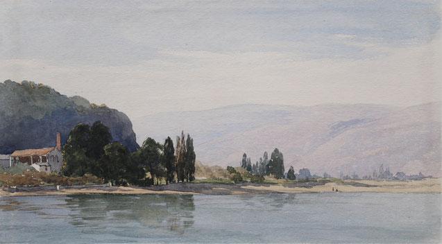 Karl Lang Archiv Büsingen Thomas Burton Watkin Forster, TBWF Aquarell watercolor