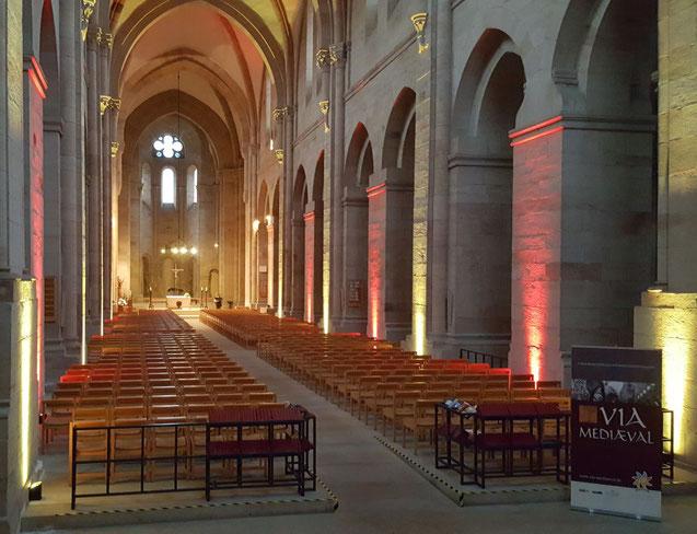 Mittelschiff der Abteikirche Otterberg