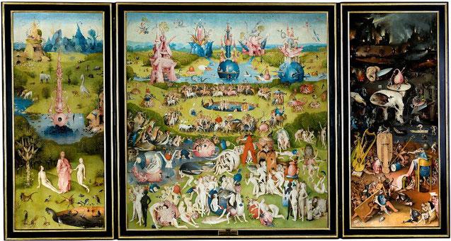 Сад земных наслаждений - Иероним Босх. Самые известные картины в мире