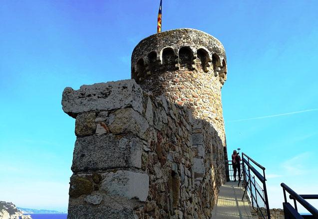 Тосса де Мар  - замок крепость