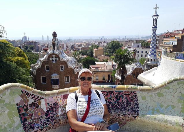 Парк Гуэль - лучшие места для Инстаграм в Барселоне