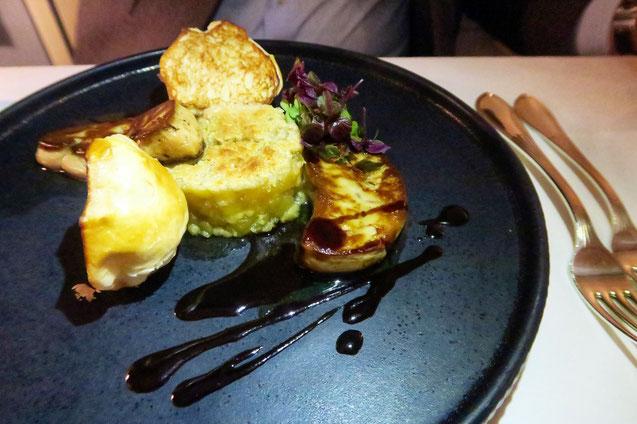 Foie grais im Zunfthaus zur Waag in Zürich
