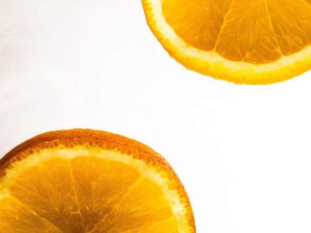 Orangenimpresion