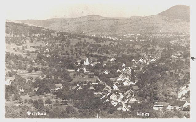 Echtfoto ohne Angaben zu Verlag oder Fotograf, ev. Metz, Basel, Nr. 25827; abgestempelt 26. IV, 1934