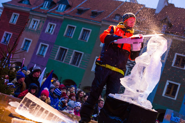 International Ice Sculpture Poznan
