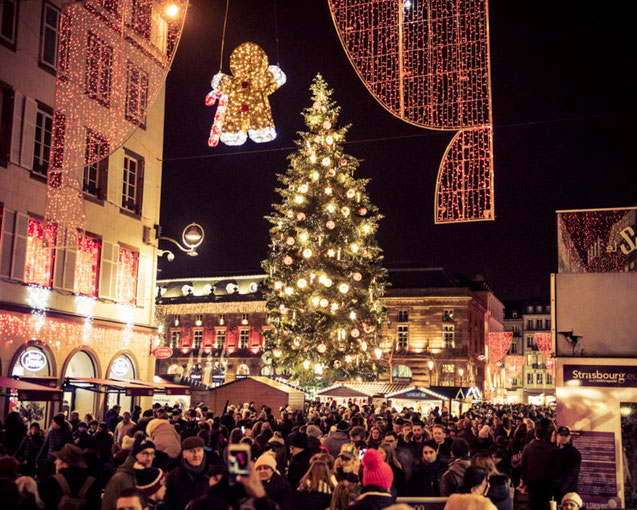 Strasbourg France Christmas Time.Strasbourg Christmas Market 2019 Dates Hotels Things To
