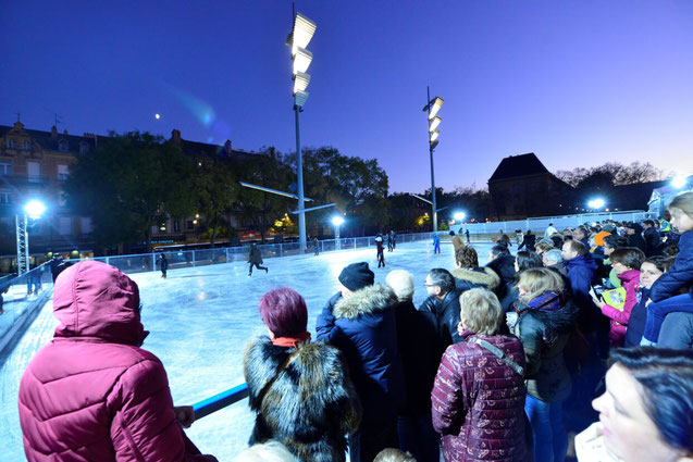 Ice-rink in Metz