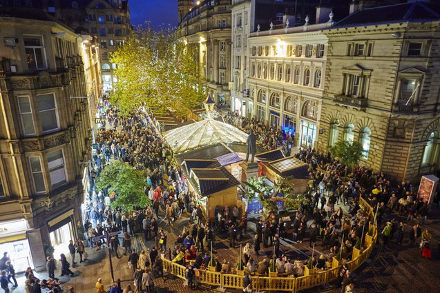 Manchester's Christmas shopping extravaganza