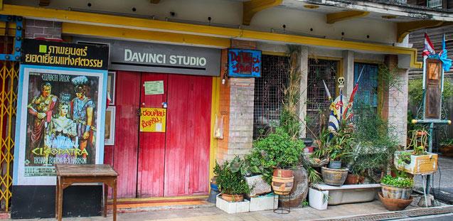 Eines der skurrilen Geschäfte der Yomjinda Walking Street