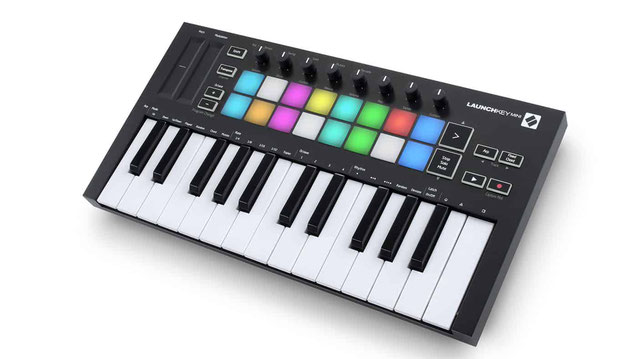 Top Midi Controller NOVATION LAUNCHKEY MINI [MK3]
