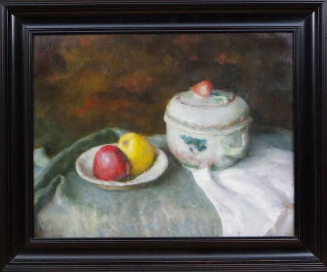 te_koop_aangeboden_een_stilleven_van_de_fijnschilder_cornelis_de_koning_1957