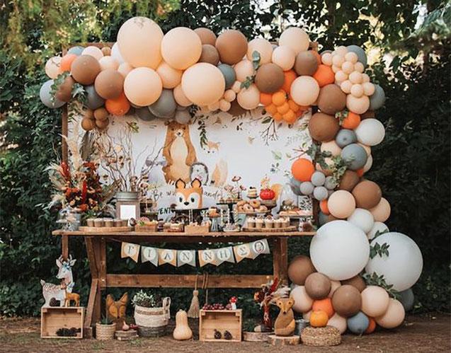decoracion vintage para cumpleaños infantil