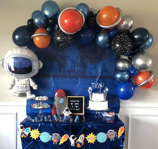 cumpleaños tematico del espacio