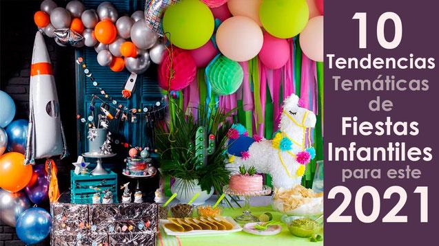 10 tendencias para fiestainfantiles 2021