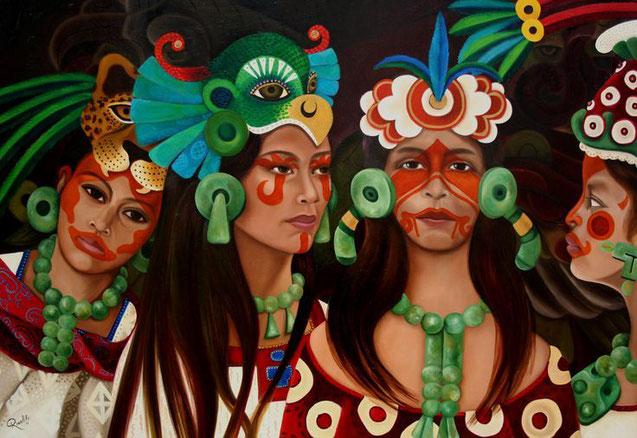 los xv años y sus origenes en los aztecas y los mayas