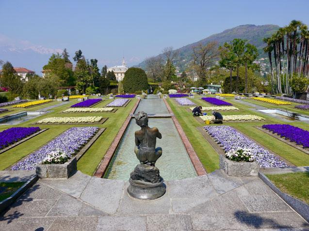 lago maggiore italienische gärten, villa taranto