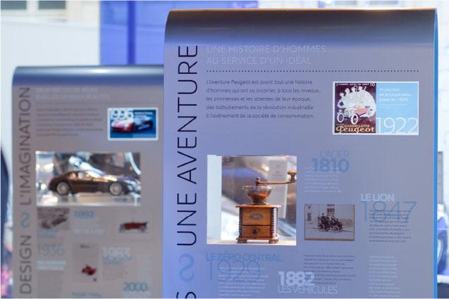 conception, création, scénographie exposition showroom automobile anniversaire