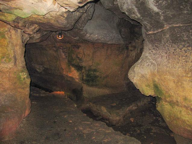 Bild: Grotte im Restaurant Milandor, Sarlat-de-Canéda