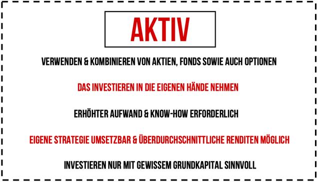 Aktiv Investieren Leitfaden Investor Schule