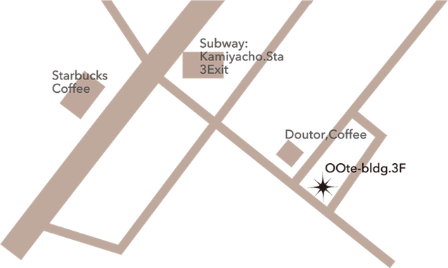 salon spica map -サロンスピカ地図 アクセスマップ-