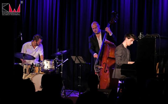 Schönes Konzert in Sulzbach Rosenberg am 21.09.18 mit dem André Weiß Trio